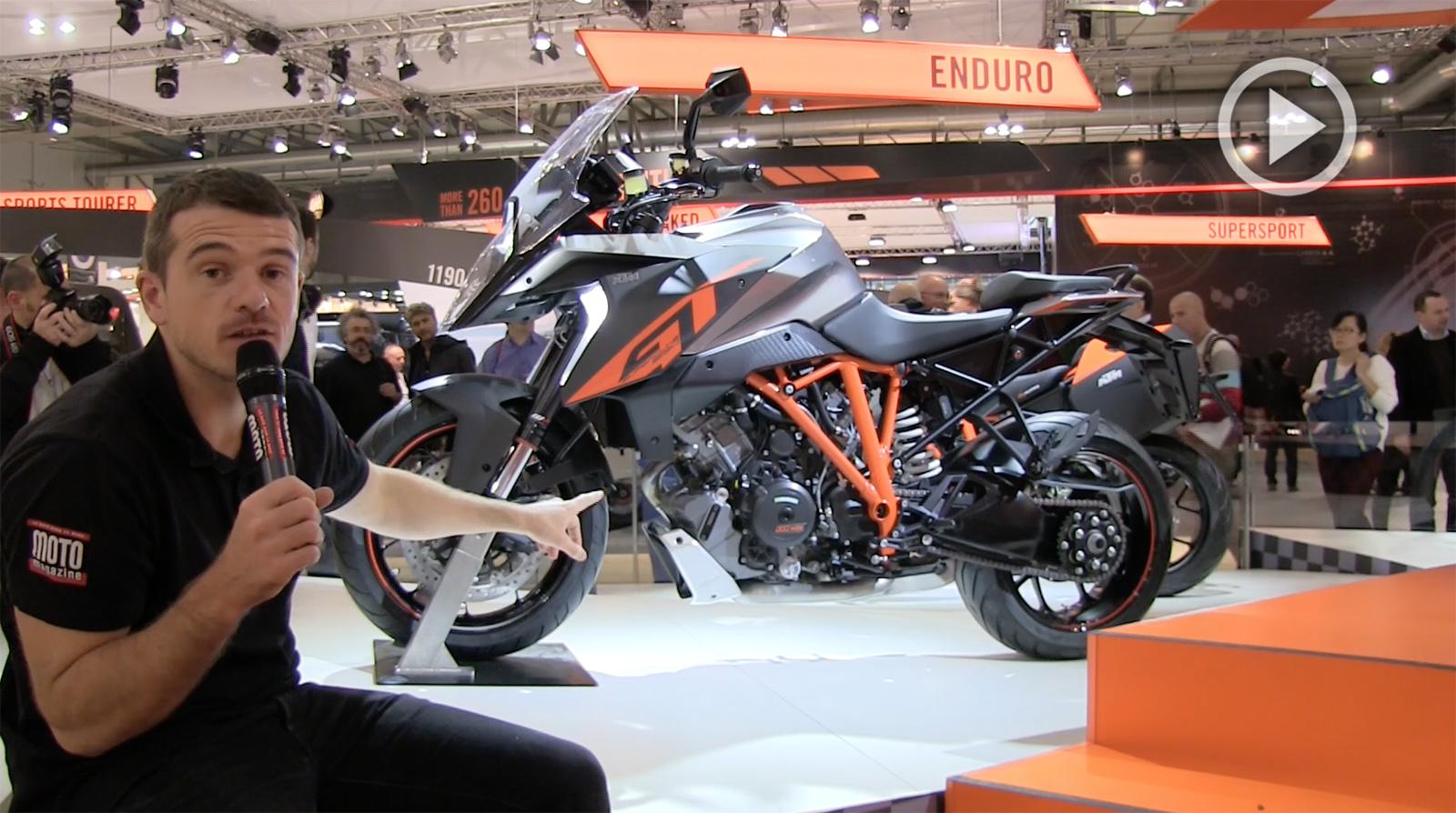 Salon moto de milan 2015 zoom sur la ktm super duke 1290 for Salon de milan moto 2018