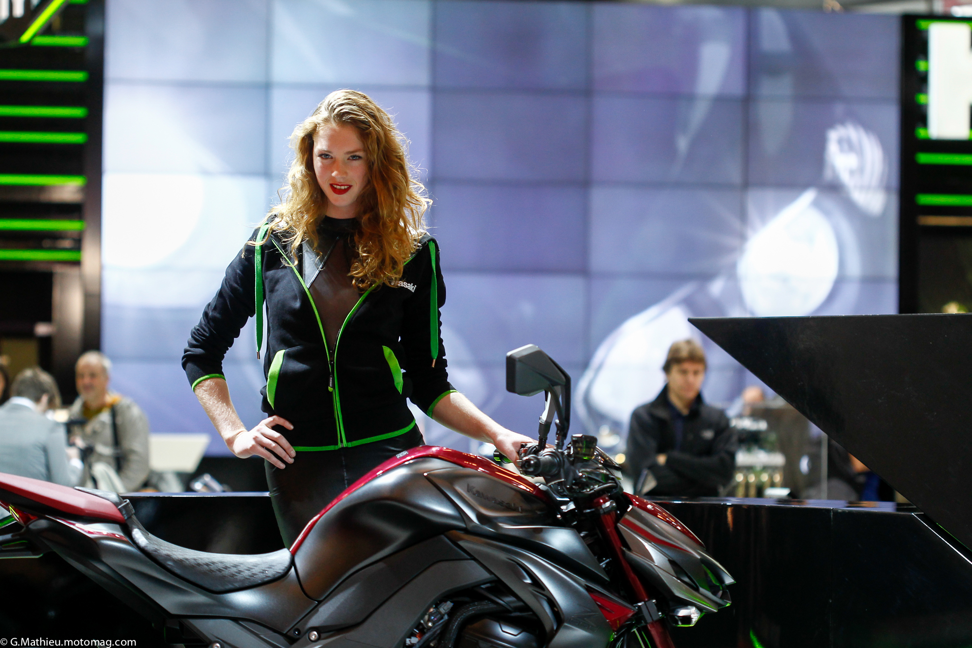 Salon de la moto de Paris : le plein d'images (...)