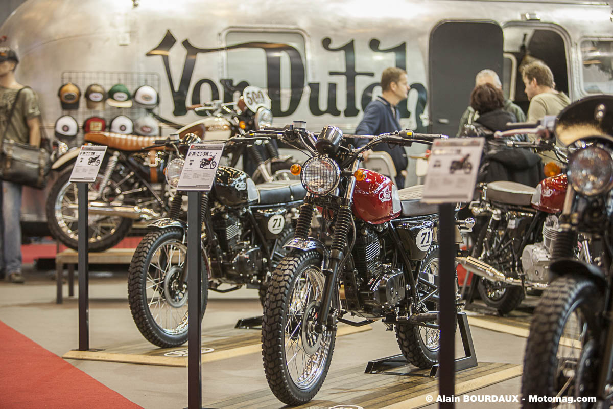 Salon moto de Paris : 3 évolutions de la Mash 125 (...)