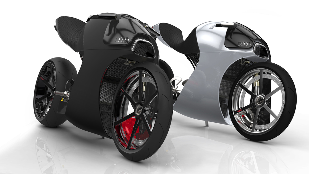 Design Essai De Style Autour D Une Nouvelle Moto