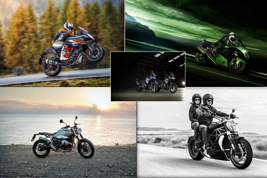 fin des 100 chevaux les motos qui peuvent d j rouler en moto magazine leader de l. Black Bedroom Furniture Sets. Home Design Ideas