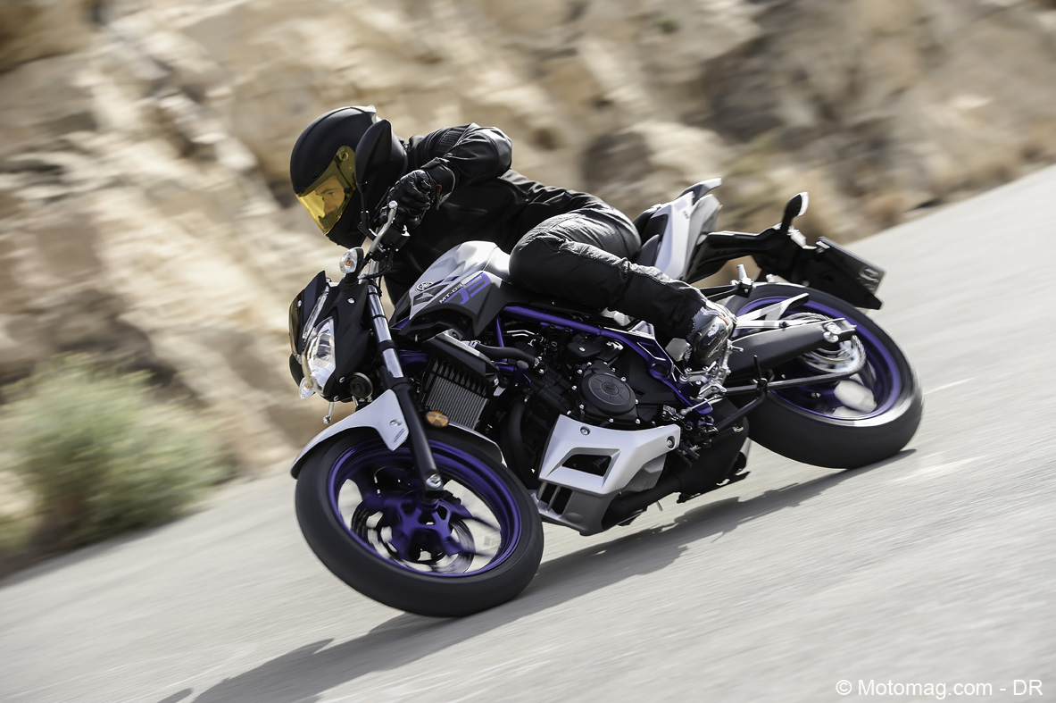 Yamaha MT-03 : smoothie mais agile