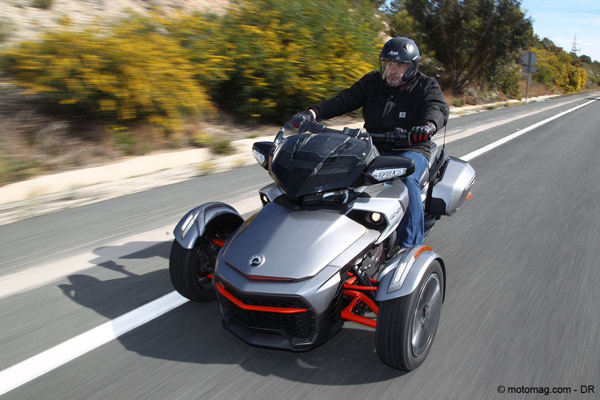 Can-Am Spyder F3T : le touring en baskets
