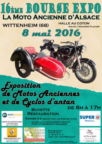 expo et bourse de motos anciennes wittenheim 68 moto magazine leader de l actualit de. Black Bedroom Furniture Sets. Home Design Ideas