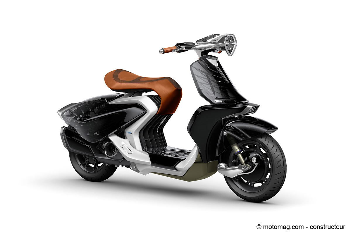 Ray Price Honda >> Yamaha 04GEN : la femme inspire les designers de scooter ...