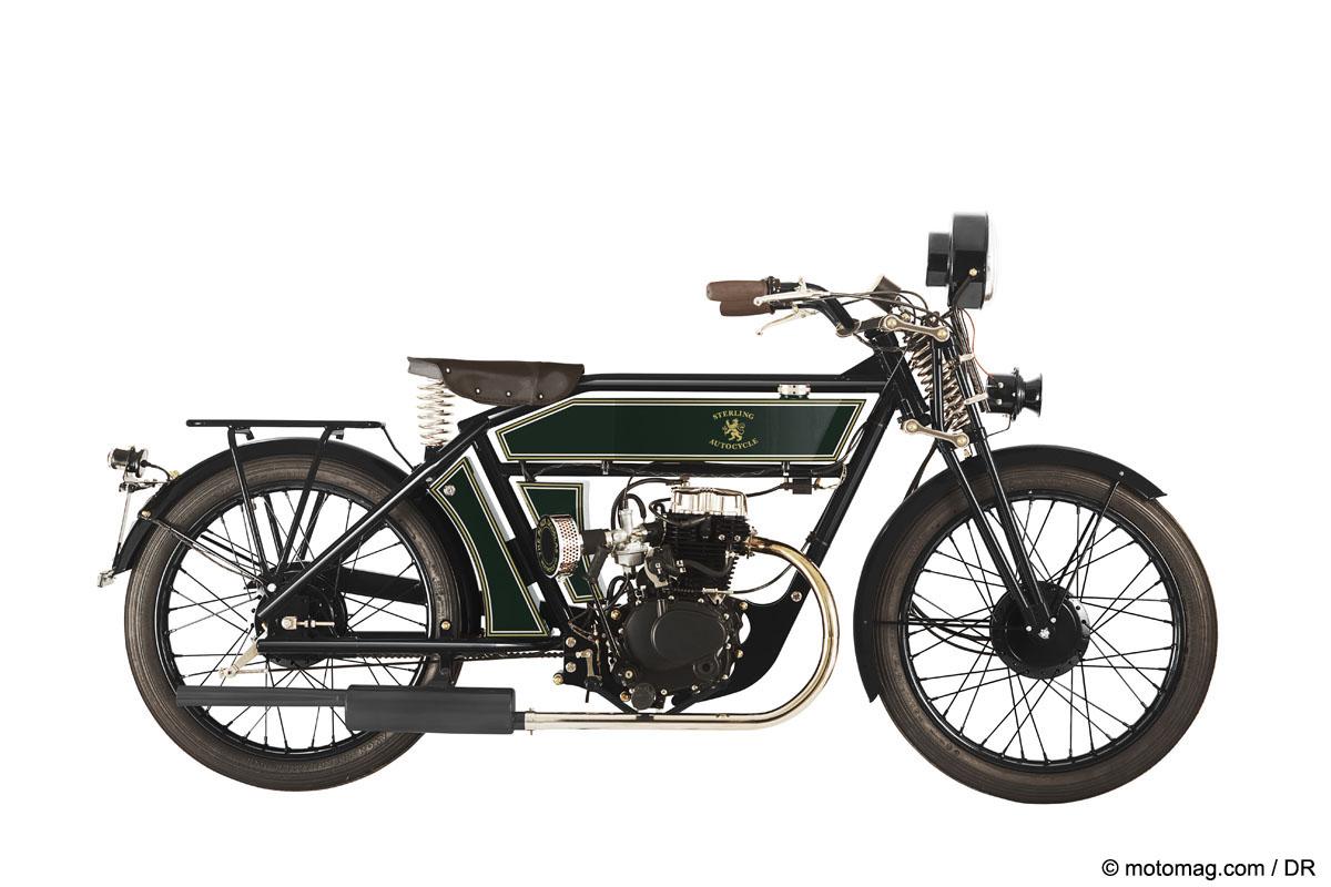 Artisanat Les Incroyables Repliques De Motos Anciennes
