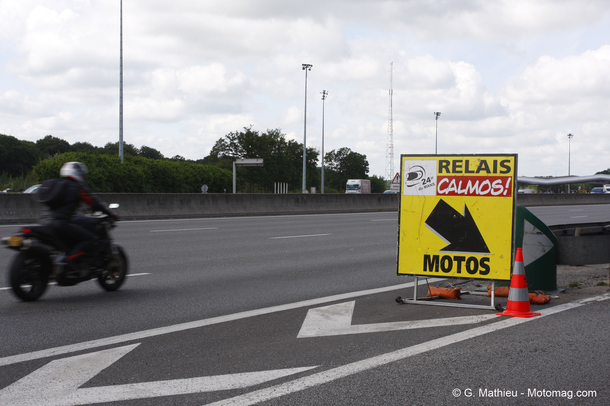 GP de France : 5 Relais Motards Calmos FFMC et quelques (...)