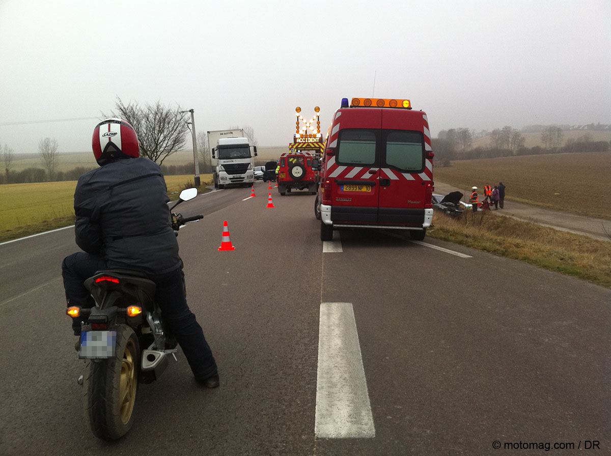 Bilan 2015 des accidents de la route : les motards (...)