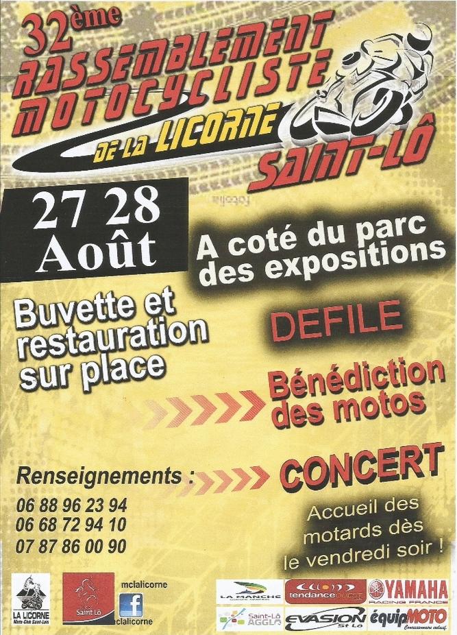 Rassemblement du MC la Licorne à Saint-Lô (50) - Moto Magazine - leader de l'actualité de la ...