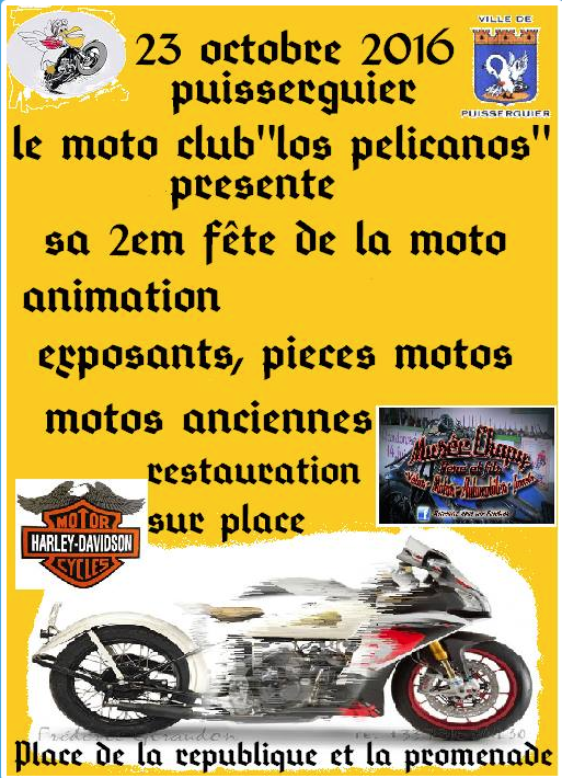 f te de la moto puisserguier 34 moto magazine leader de l actualit de la moto et du motard. Black Bedroom Furniture Sets. Home Design Ideas