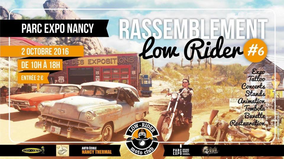 Rassemblement annuel du Lowrider MC à Nancy (54)