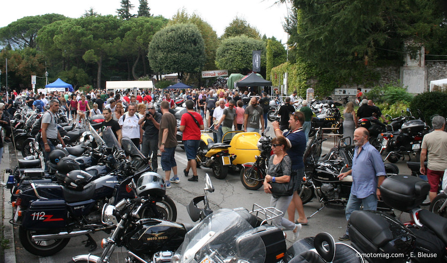 10 000 motards honorent Moto Guzzi pour ses 95 (...)