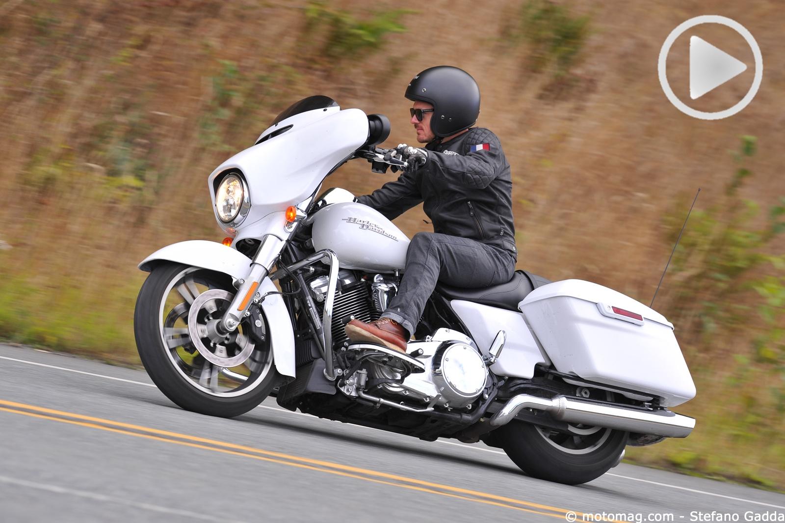Harley-Davidson Street Glide Special : le grand 8 de (...) - Moto Magazine - leader de l ...