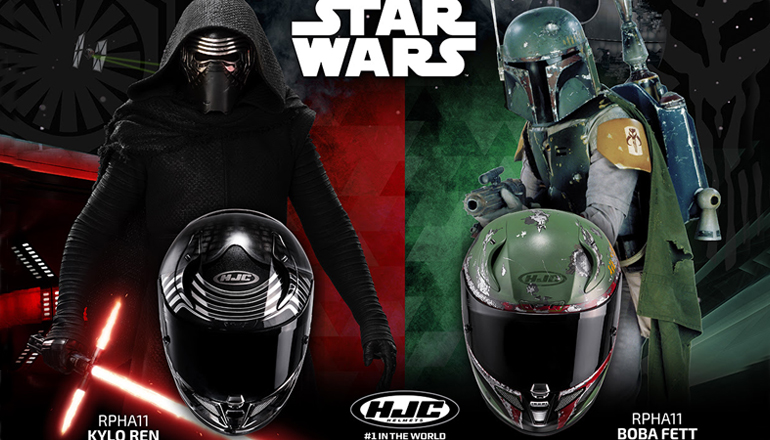 hjc va commercialiser des casques de moto star wars moto magazine leader de l actualit de. Black Bedroom Furniture Sets. Home Design Ideas