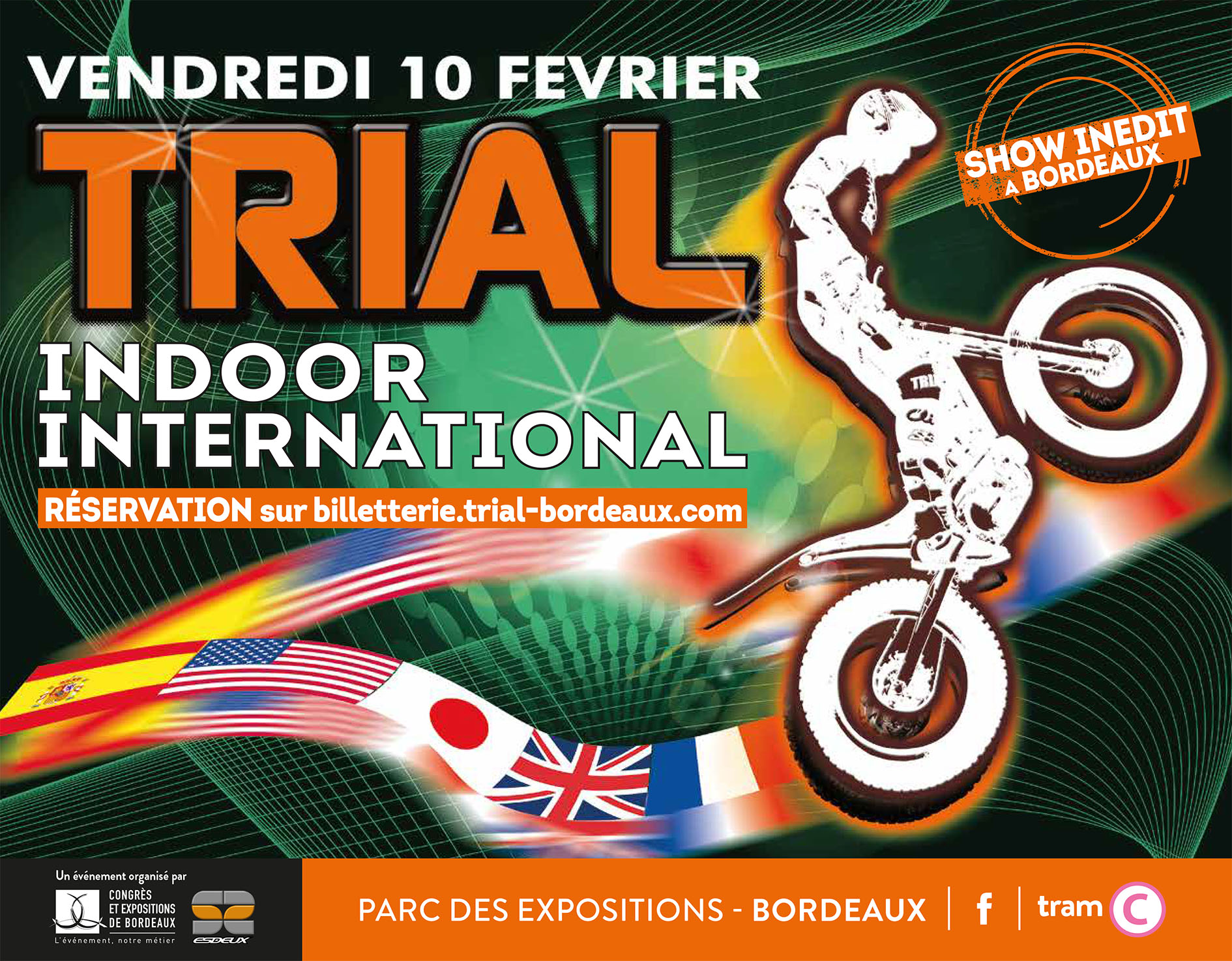 Trial indoor international de Bordeaux (33)