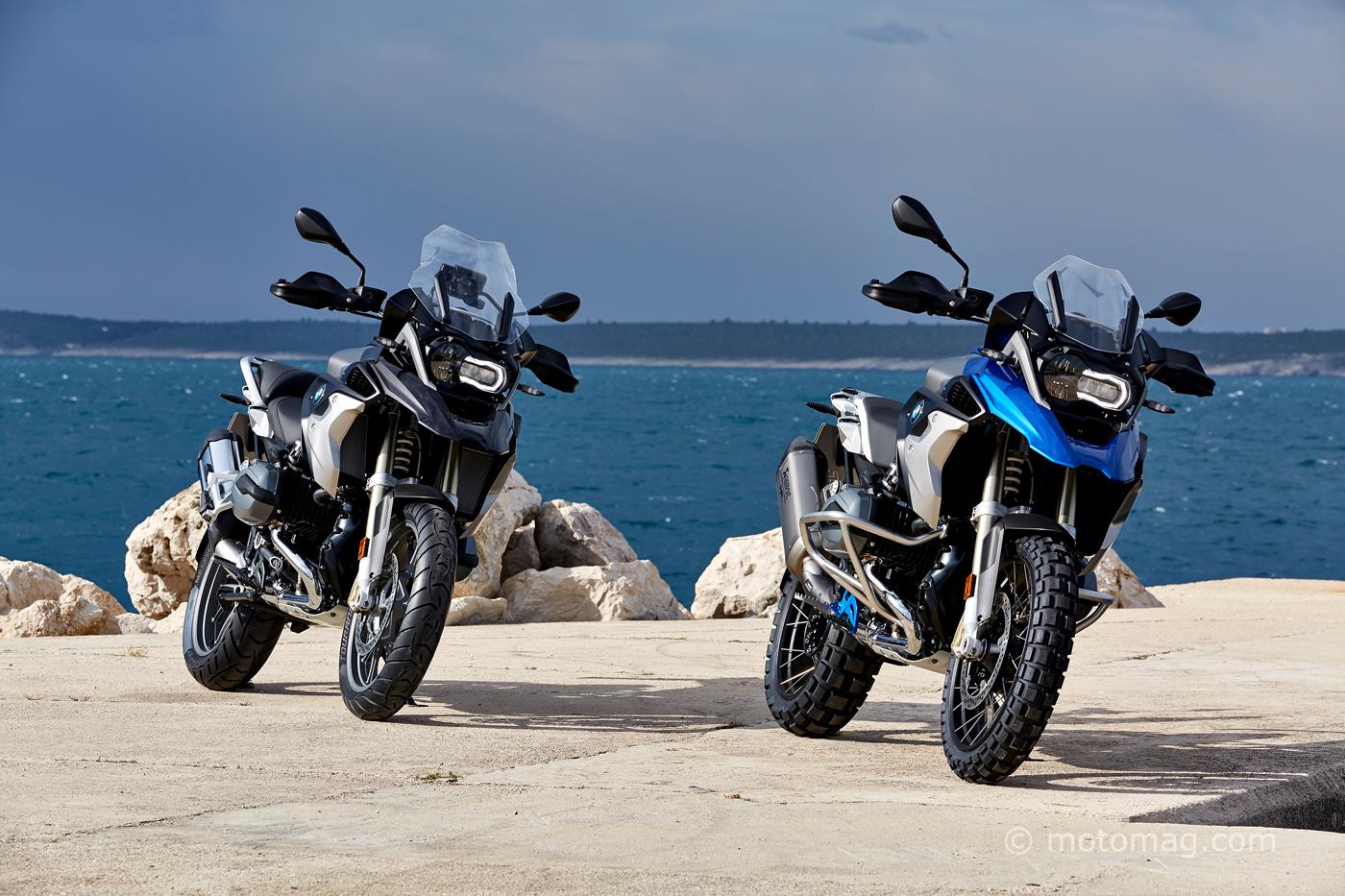bmw r1200gs 2017 : trois versions pour un choix assumé - moto