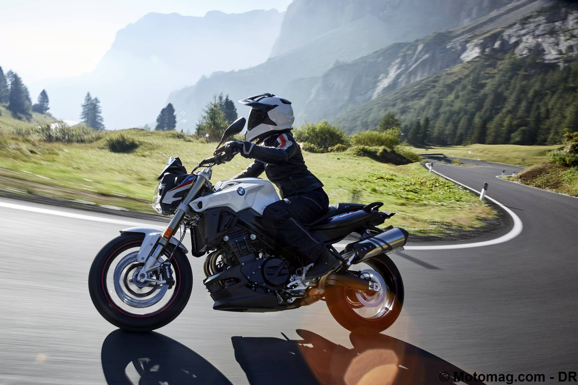 BMW F 800 R 2017, le roadster allemand polyvalent