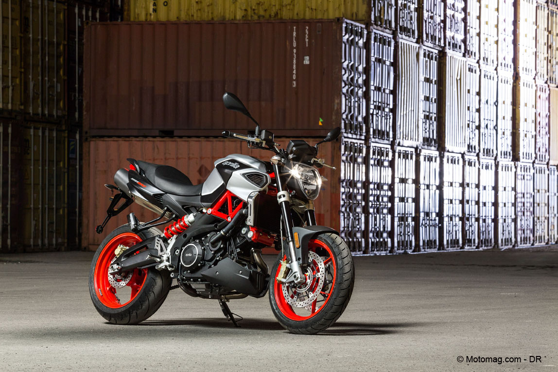 Aprilia Shiver 900, plus de volume