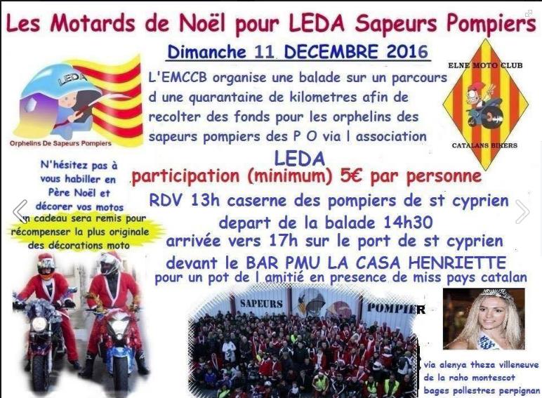 balade moto noel paris 2018 Père Noël motard : balade de l'Elne moto club catalan bikers  balade moto noel paris 2018
