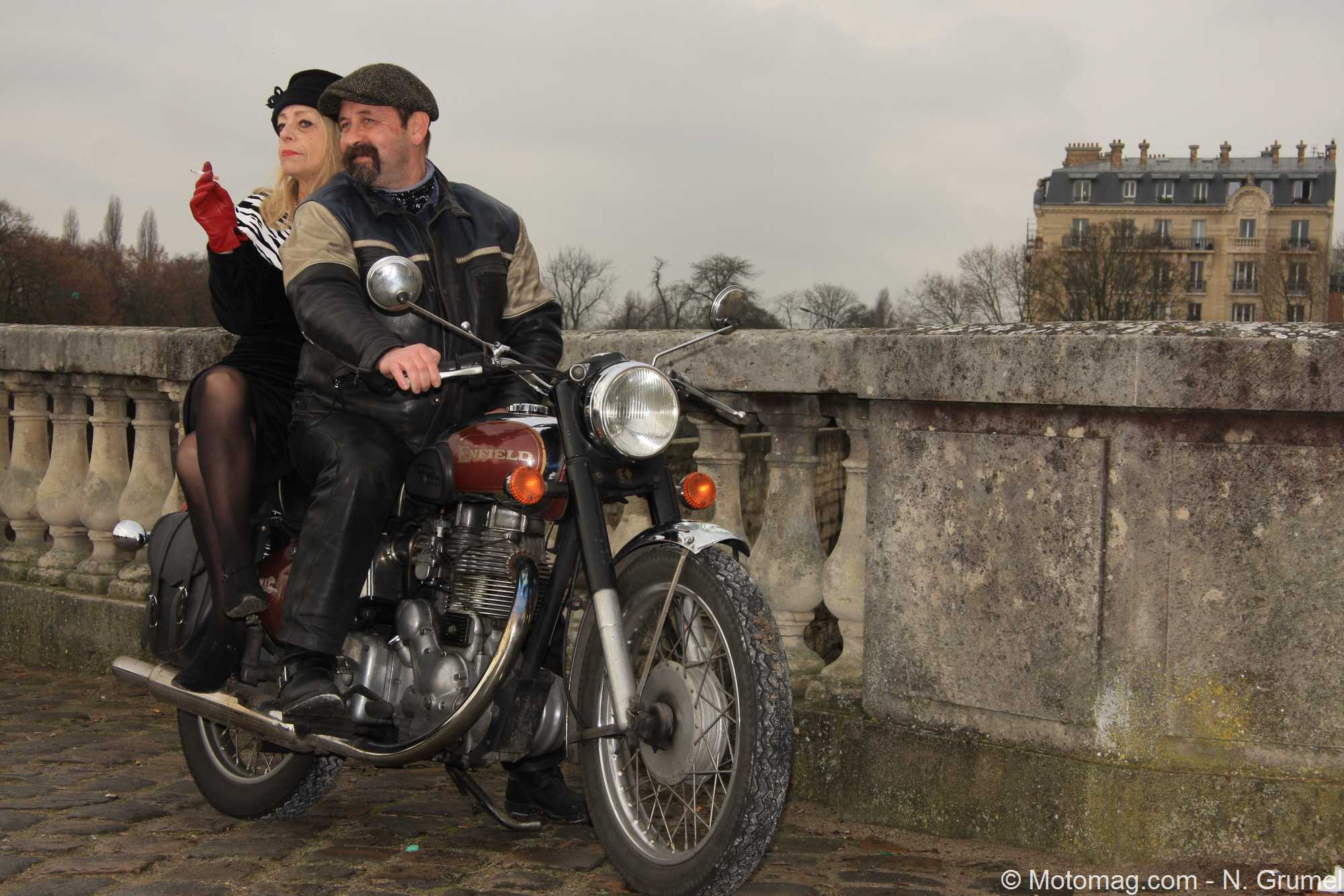 moto ancienne trois beaut s crois es lors de la travers e moto magazine leader. Black Bedroom Furniture Sets. Home Design Ideas