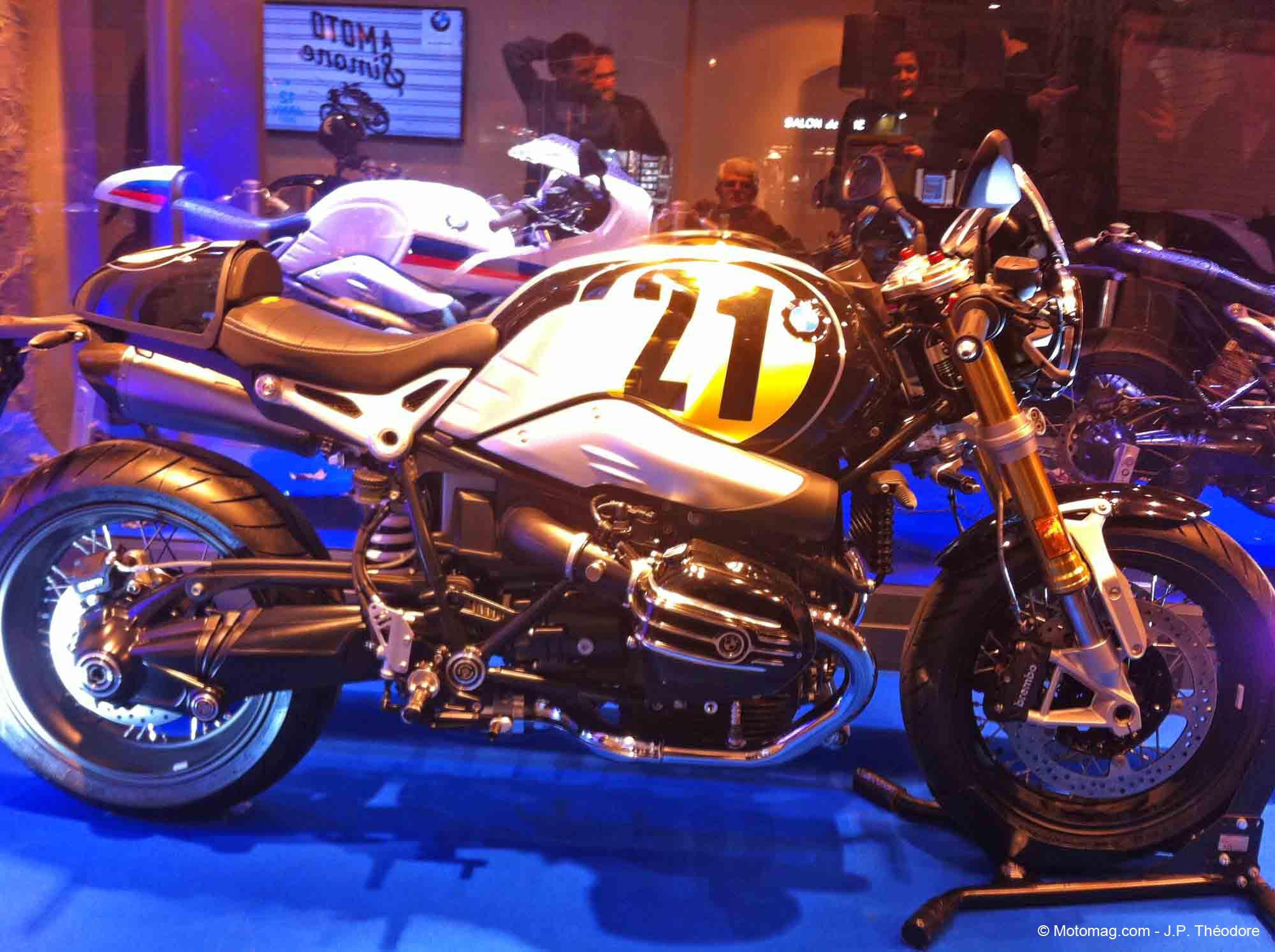 mode bmw promotionne les motos vintage paris moto magazine leader de l actualit de la. Black Bedroom Furniture Sets. Home Design Ideas