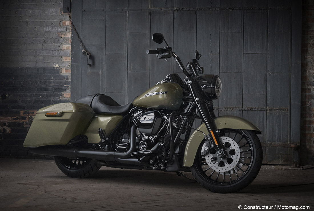 Nouvelle Harley Davidson Road King Special Styl 233 E