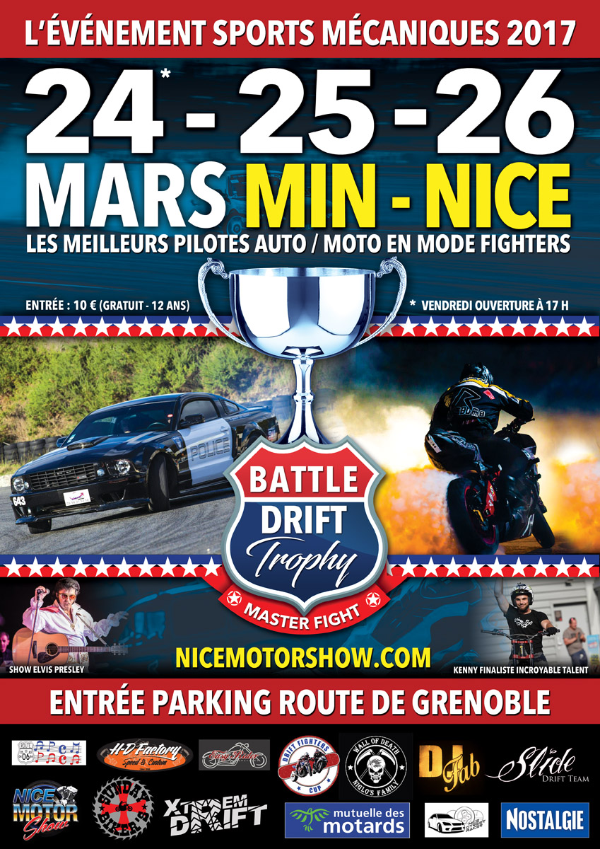 Spectacle moto : le Nice Motor Show (06)