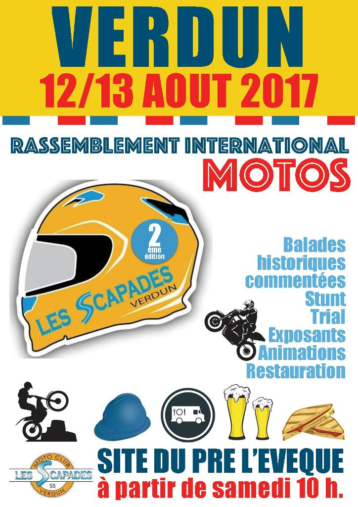 2e Rassemblement international moto du centenaire à (...)