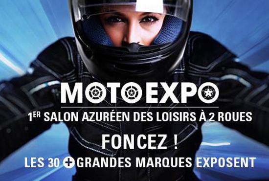 Salon moto expo du cnpa au stade allianz riviera nice for Salon moto nice