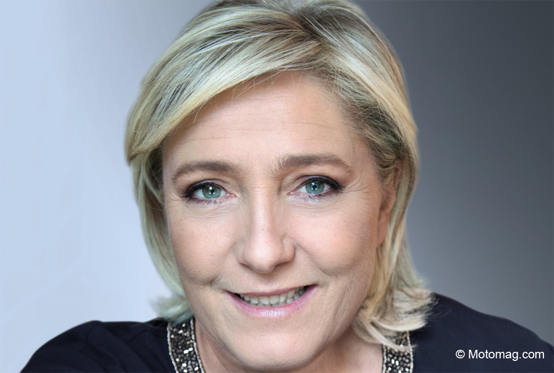 Marine Le Pen (Front national) : « je refuse la (...)