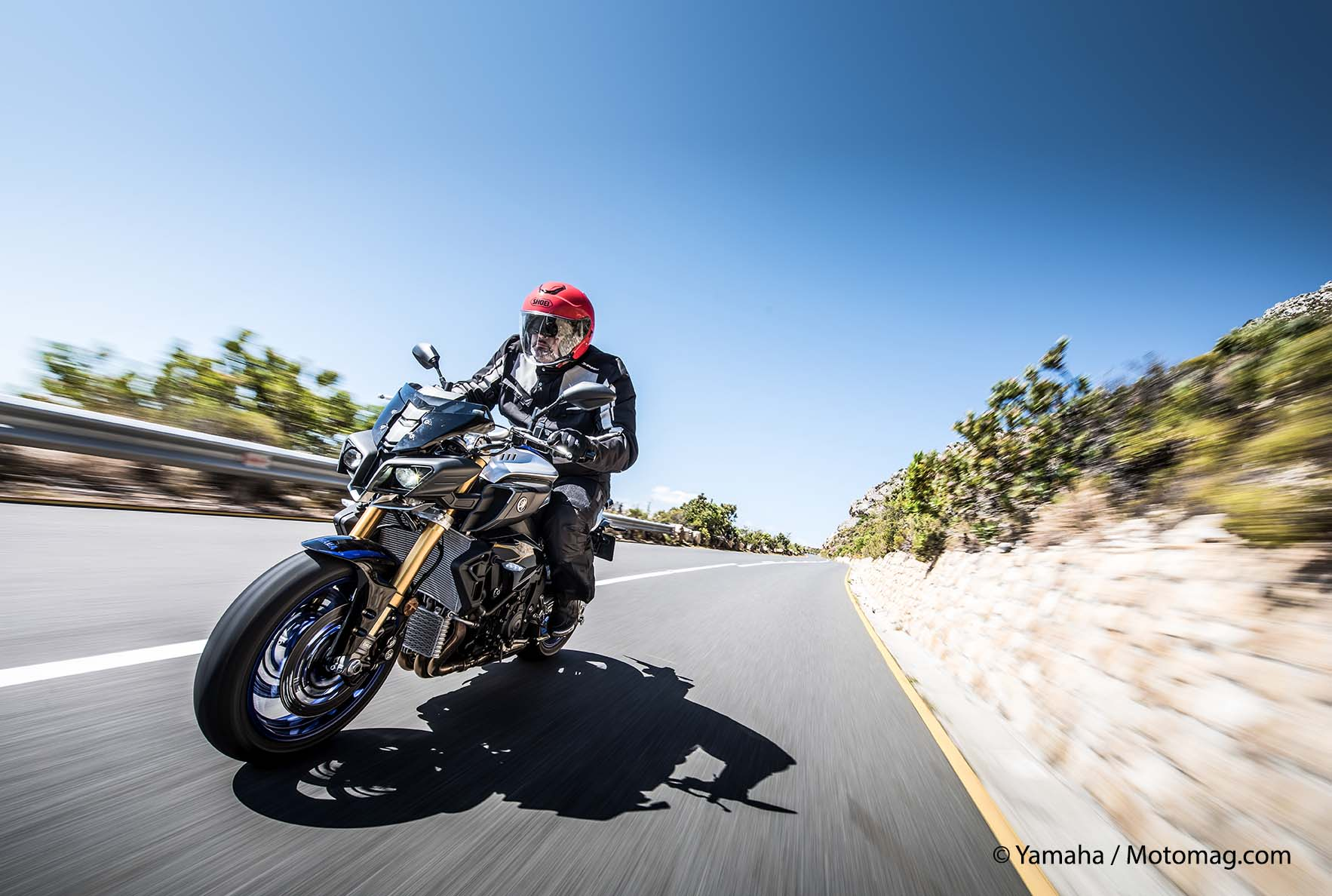 Yamaha MT-10 SP : super suspensions