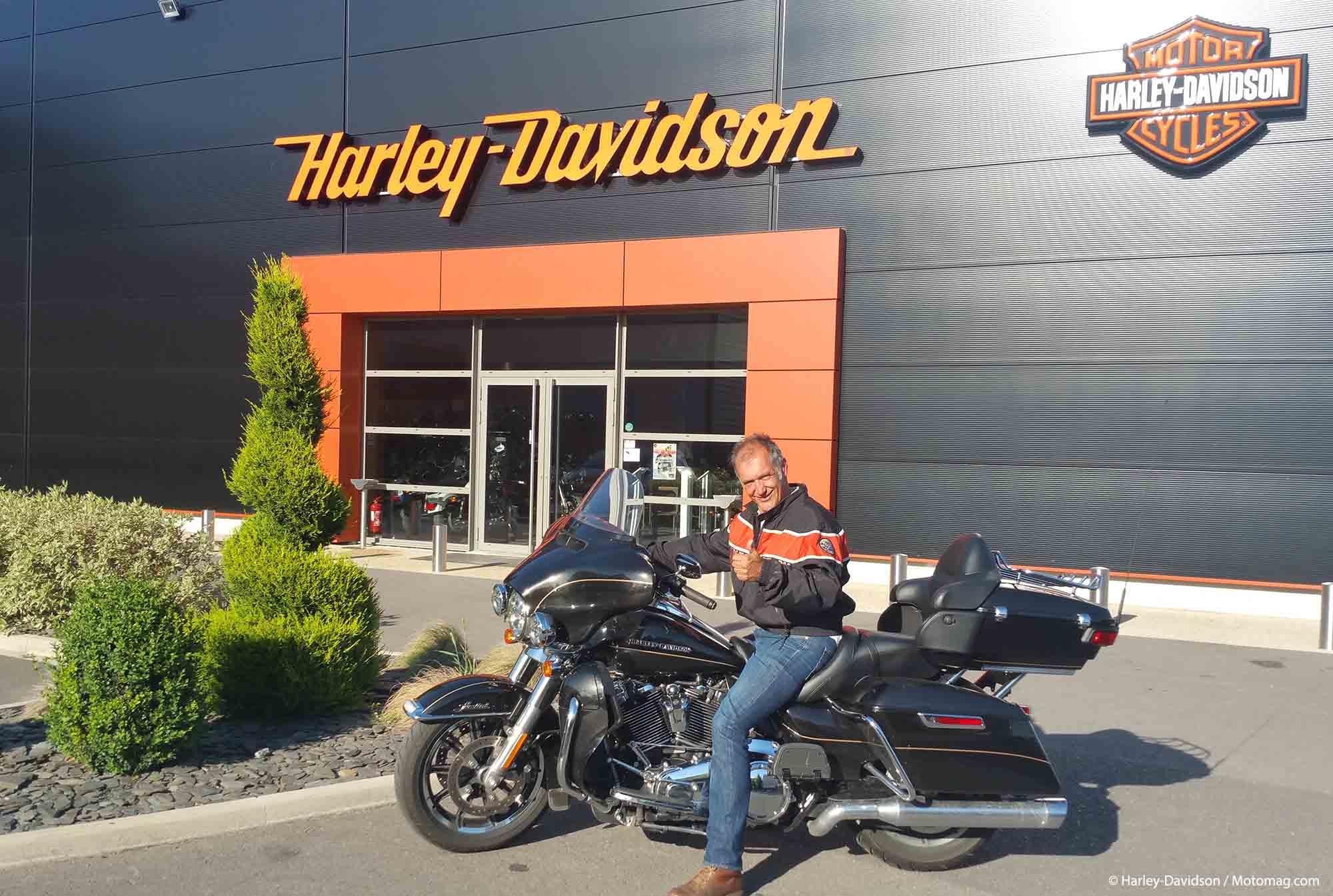 Concours Discover More : un Français gagne une Harley et un