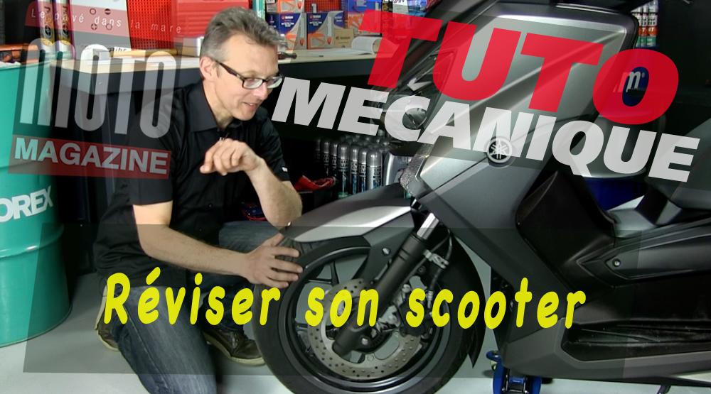 tuto m canique moto contr ler son scooter moto magazine leader de l actualit de la moto. Black Bedroom Furniture Sets. Home Design Ideas