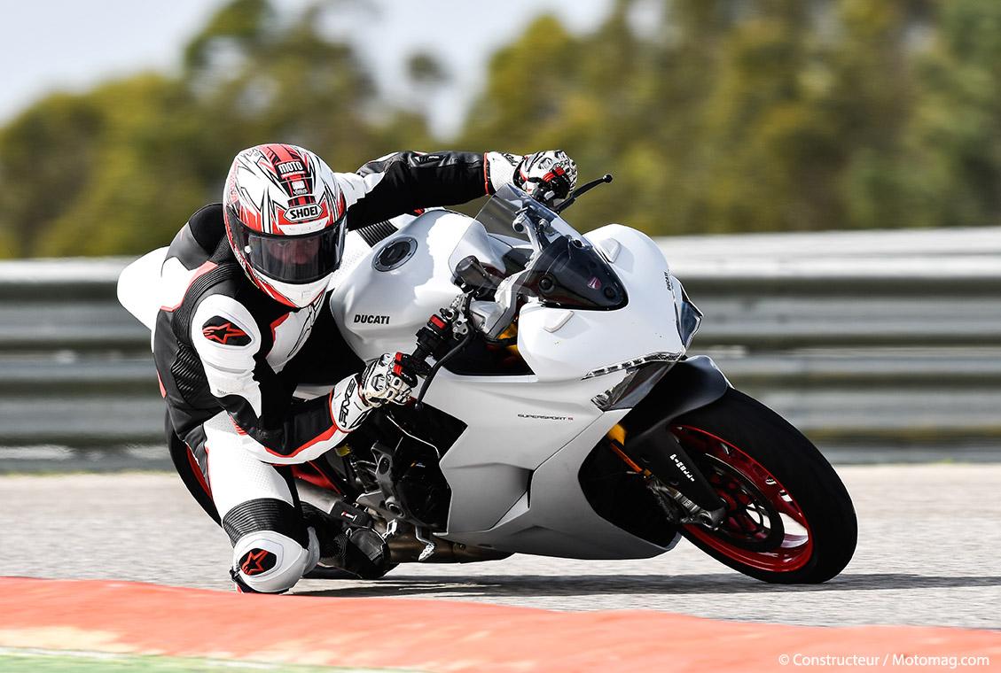 Ducati Supersport S : équipée Öhlins pour la piste - Moto Magazine - leader de l'actualité de la ...