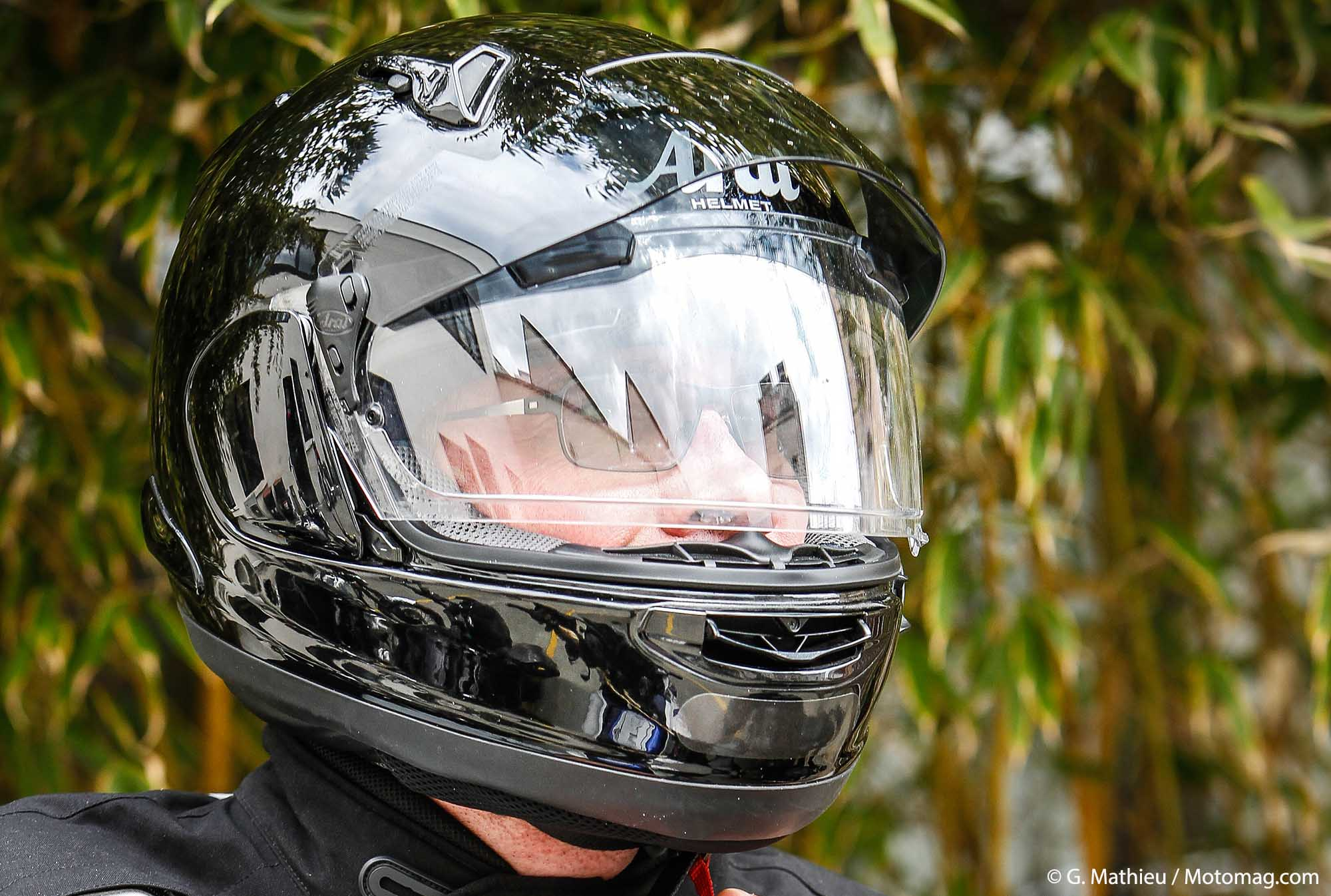 Casque Intégral Arai Qv Pro Sculpté Pour Le Sport Tourisme Moto