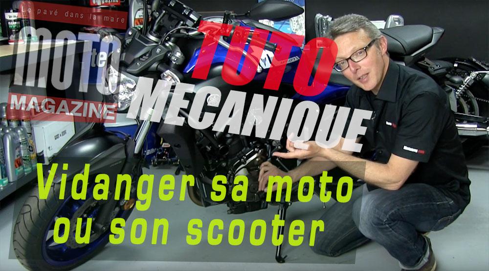 tuto m canique moto vidanger sa moto ou son scooter moto magazine leader de l actualit de. Black Bedroom Furniture Sets. Home Design Ideas