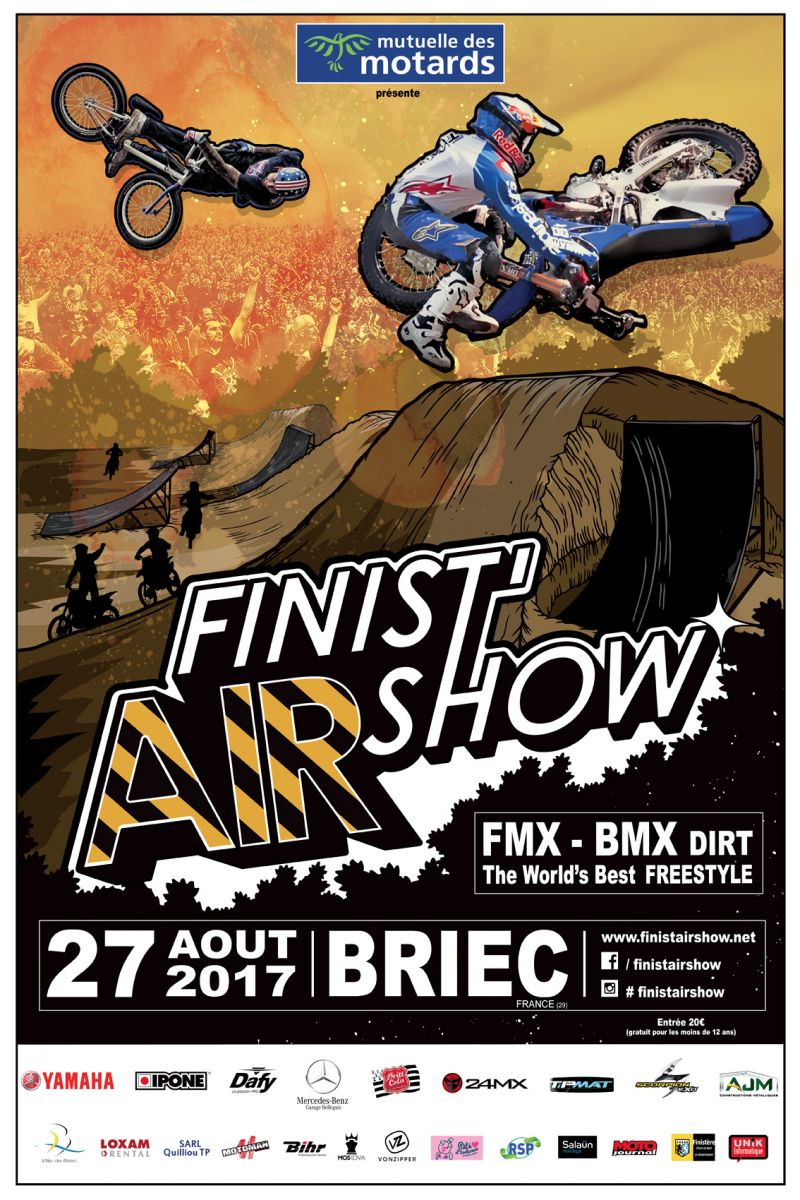 finist 39 air show freestyle fmx bmx briec gagnez des moto magazine leader de l. Black Bedroom Furniture Sets. Home Design Ideas