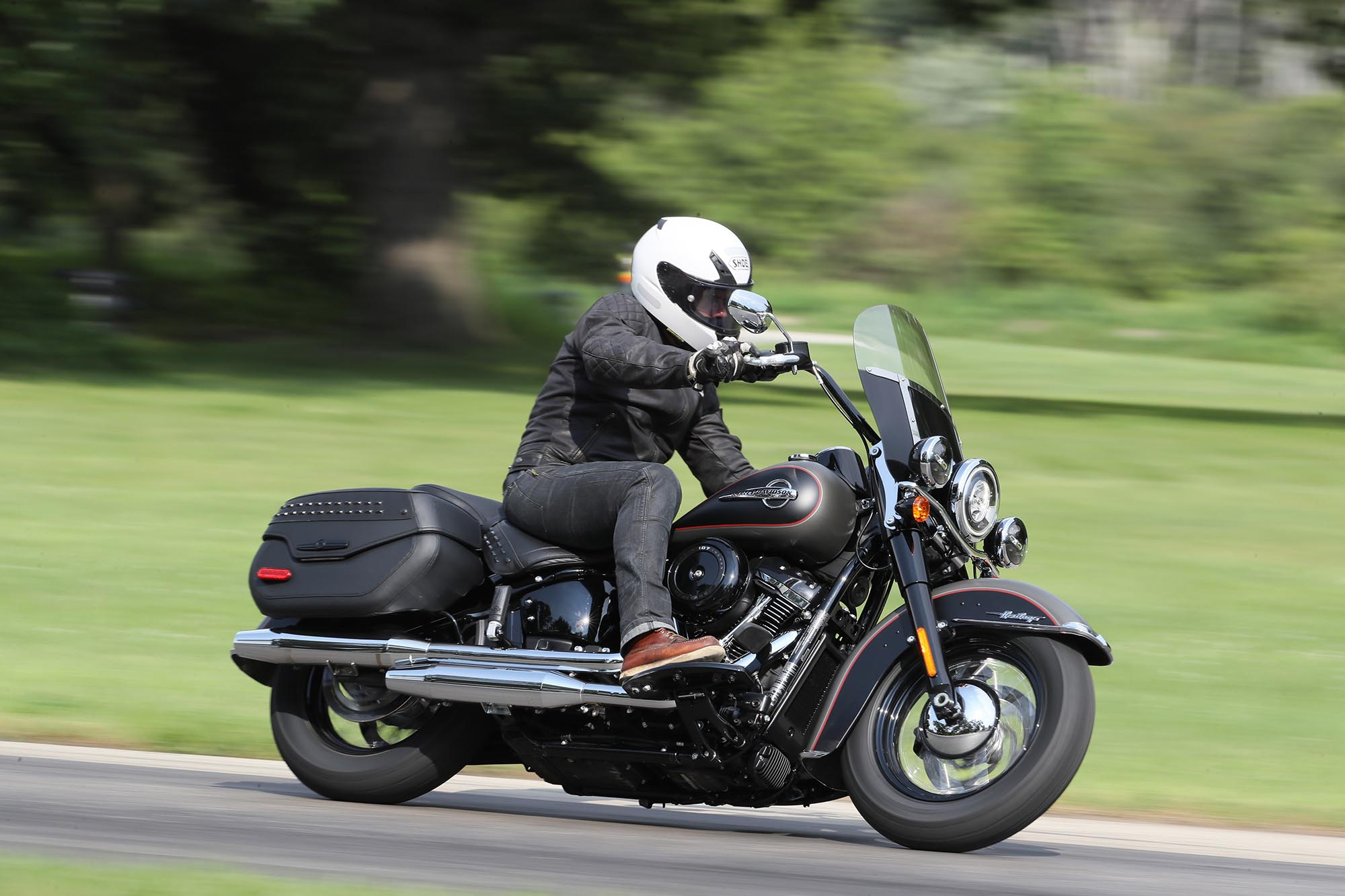 Harley-Davidson Softail Heritage Classic : l'option (...)
