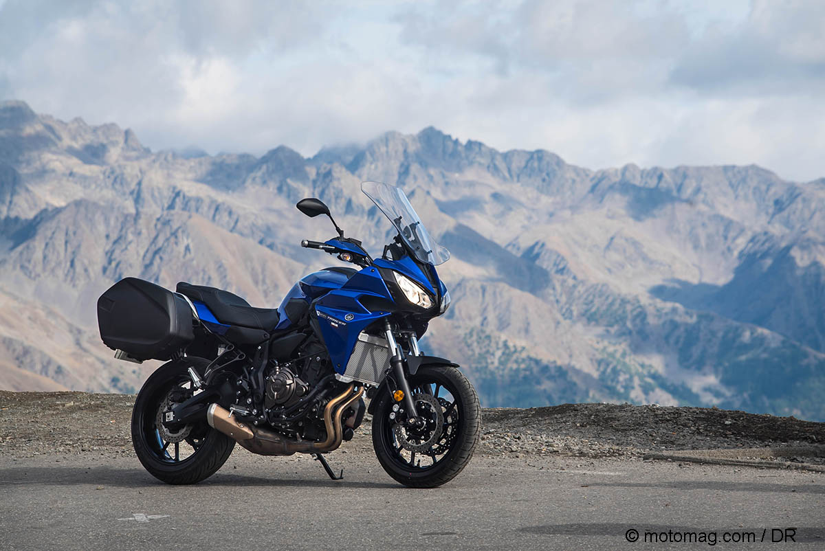 Yamaha Tracer 700 GT : petite voyageuse deviendra (...)