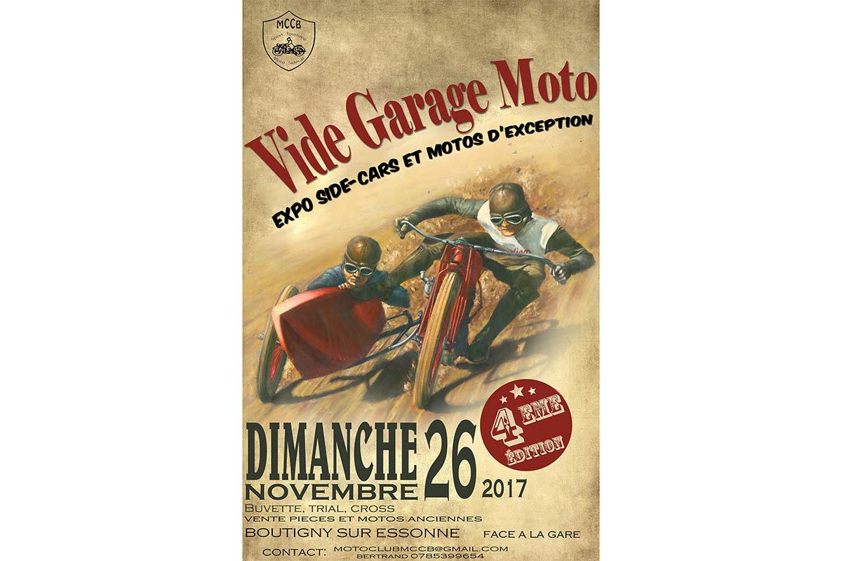 vide garage moto de boutigny sur essonne 91 moto