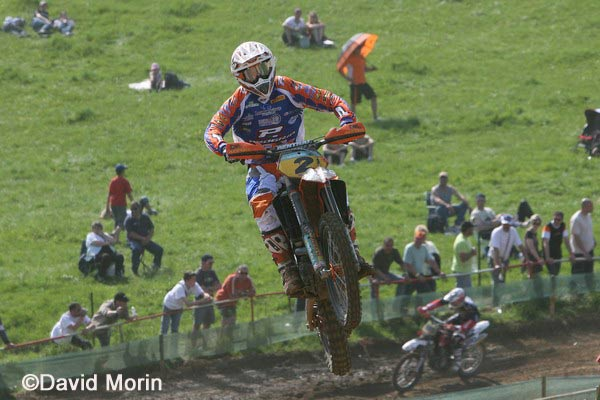 GP MX : doublé du team JM Racing KTM en picardie