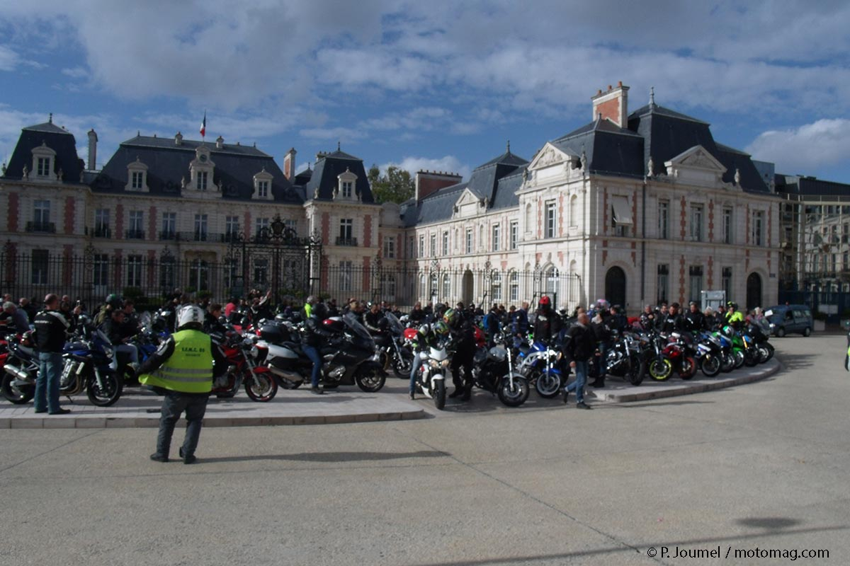FFMC 86 : Poitiers mobilise 200 motards