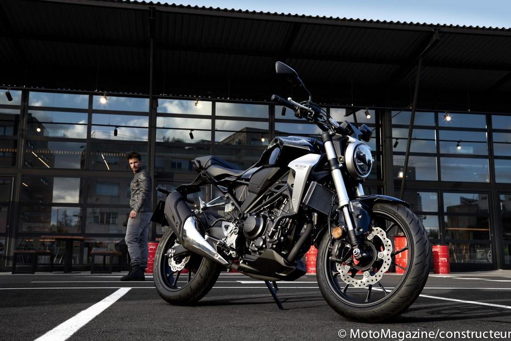 milan nouveaut s motos 2018 honda cb300r moto magazine. Black Bedroom Furniture Sets. Home Design Ideas