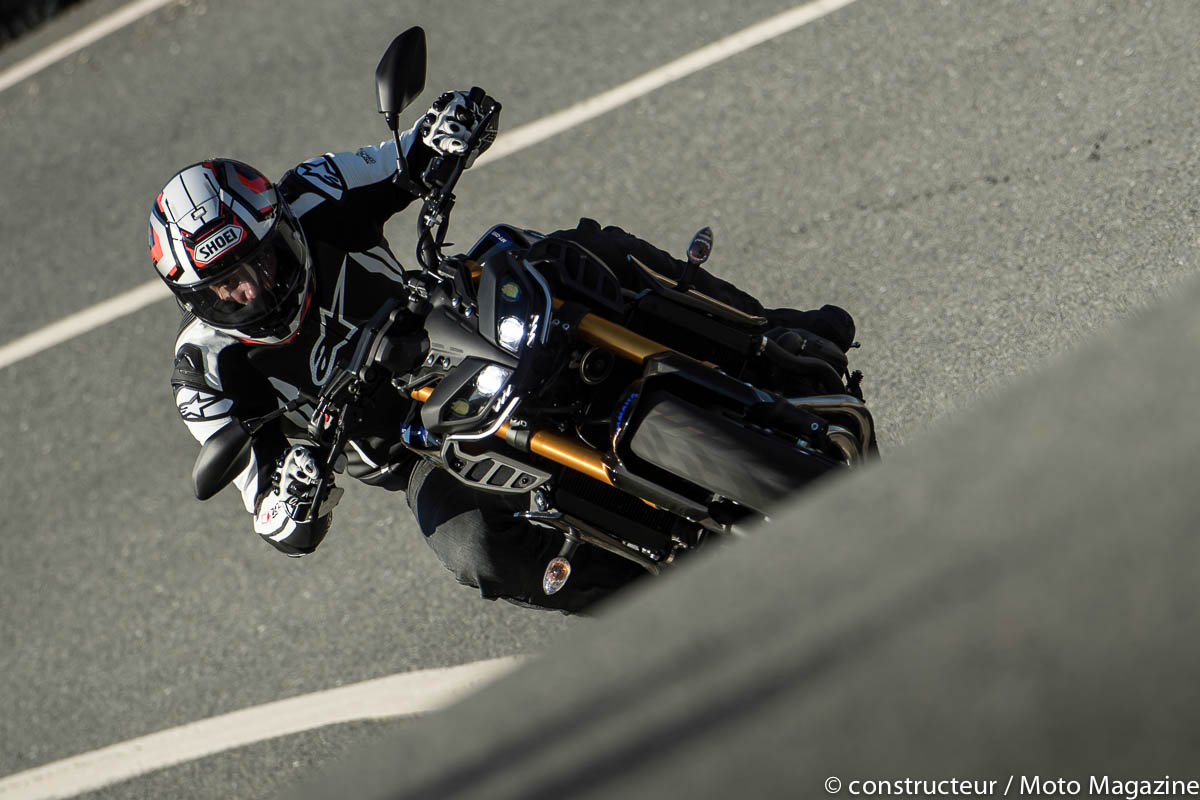 [VIDEO] Essai Yamaha MT-09 SP : enfin amortie