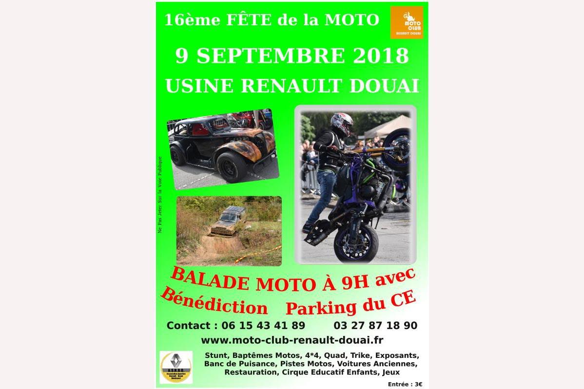 16e Fête De La Moto à Douai 59 Moto Magazine Leader De L