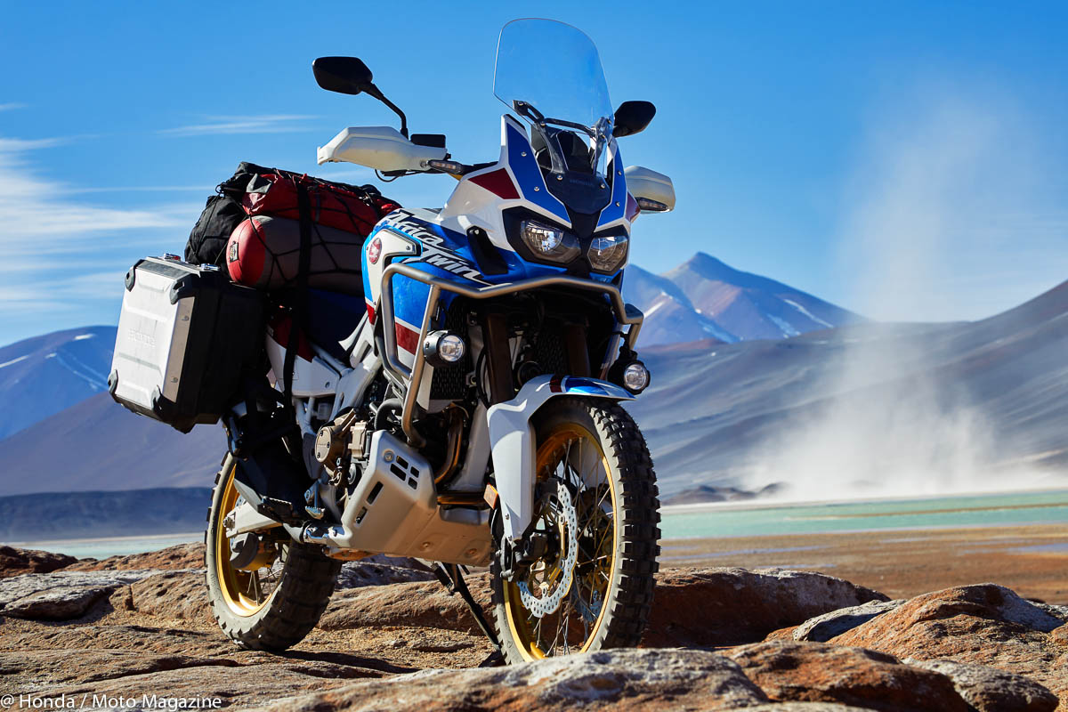 Honda CRF 1000 L Africa Twin « Adventure Sport » : (...)