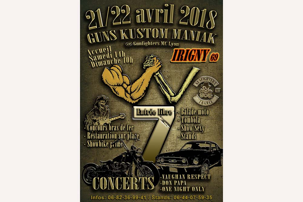 7e concentration « Guns Kustom Maniak » (69)
