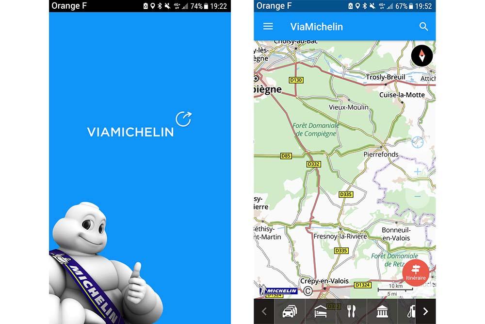 VIAMICHELIN GPS TÉLÉCHARGER POUR CARTE