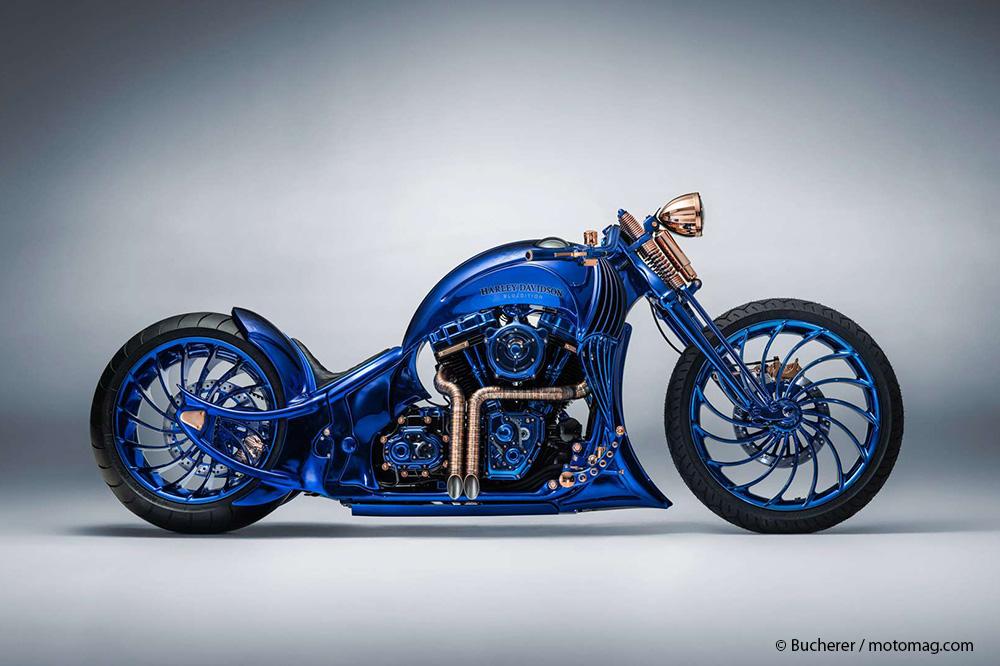 Harley Davidson Leader De La Moto