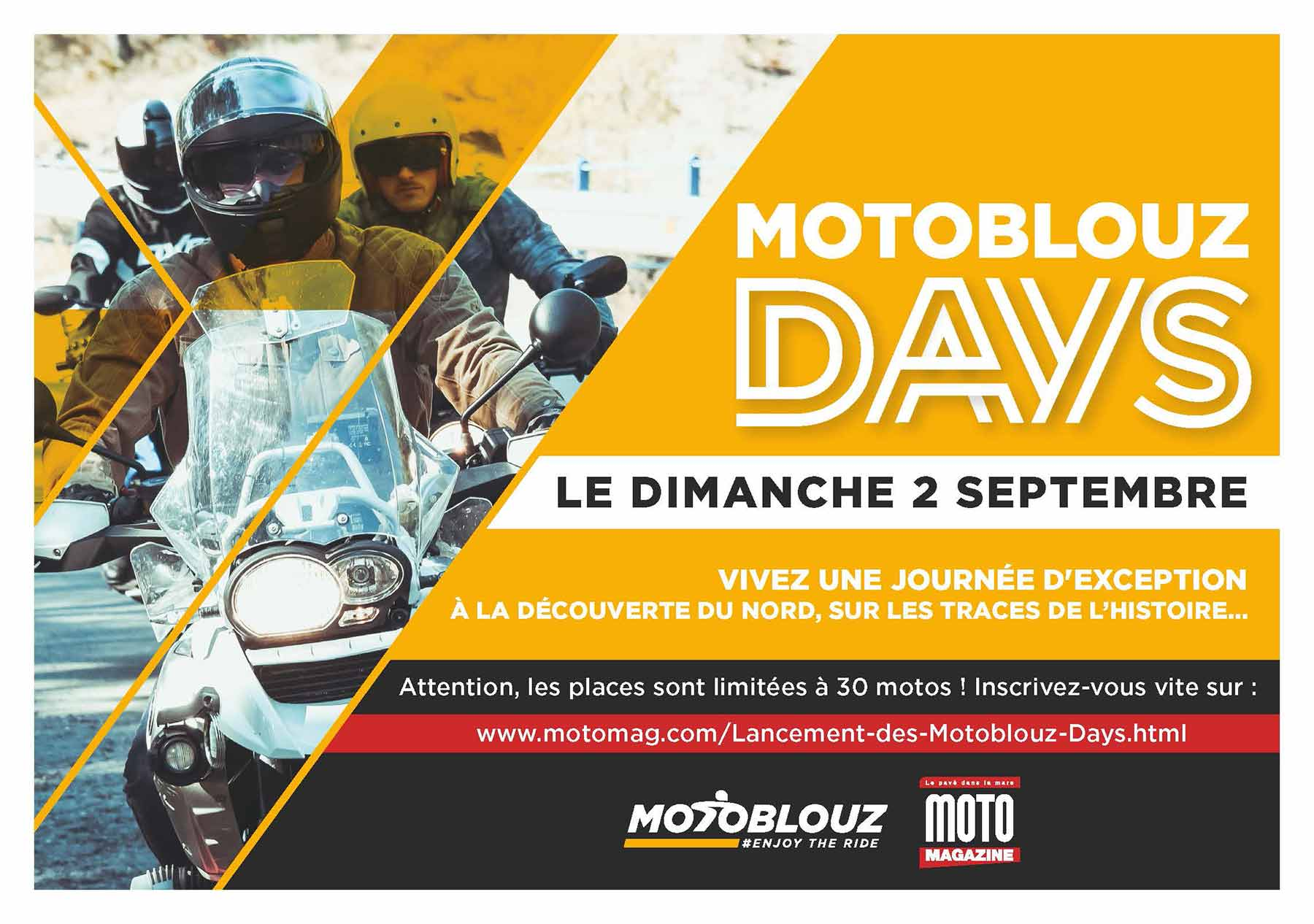 Motoblouz Days - Questionnaire satisfaction - Parc (...)